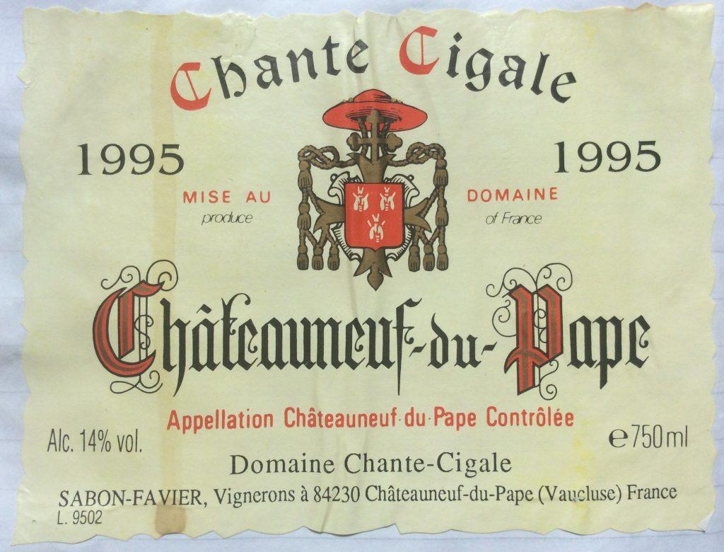 Chante Cigale 1995