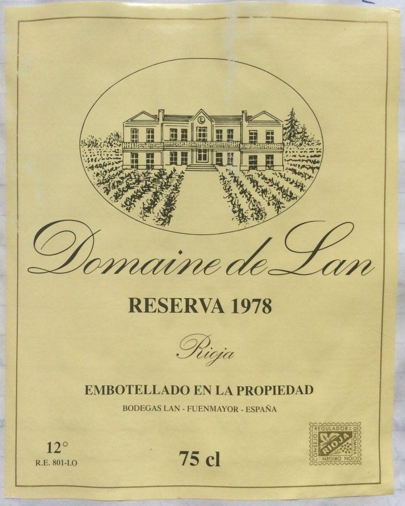 Lan Rioja 1978