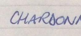 21. Wolf Blass, Chardonnay ?? Label, 1998