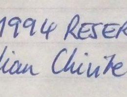 23. Bodegas Julian Chivite, Gran Fuedo Navarra Reserva, 1994