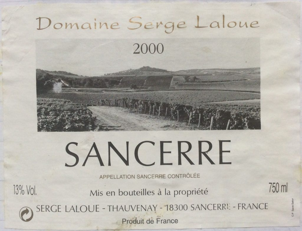 Solid Sancerre
