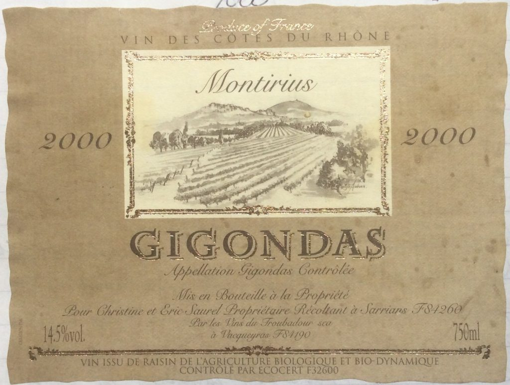 Biodynamic Gigondas