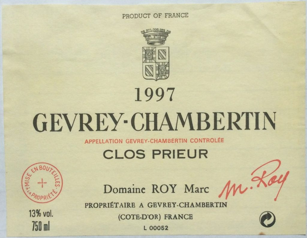 Quality Gevrey villages