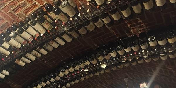 Fine wine cellar