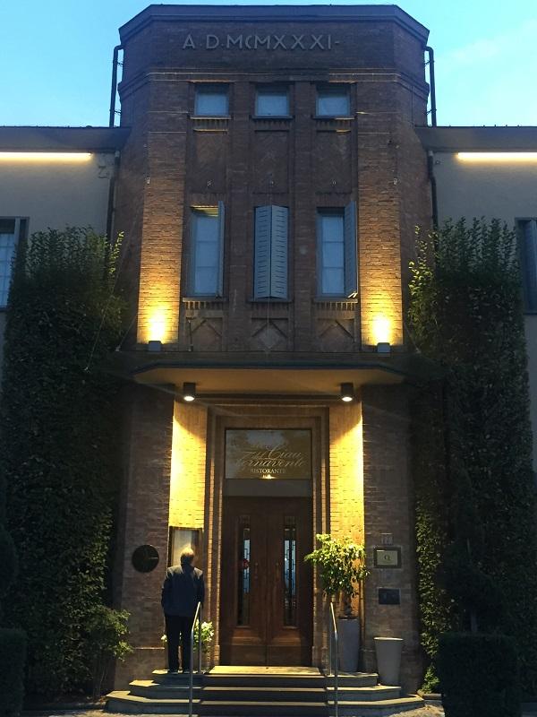 Entrance to Ciau del Tornavento