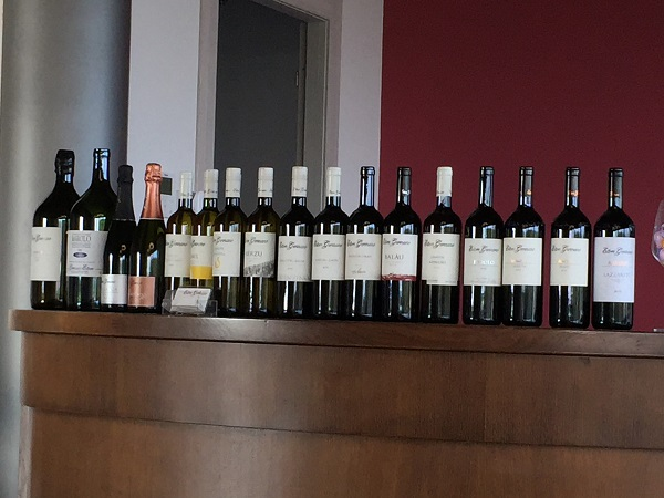 Ettore Germano tasting wines