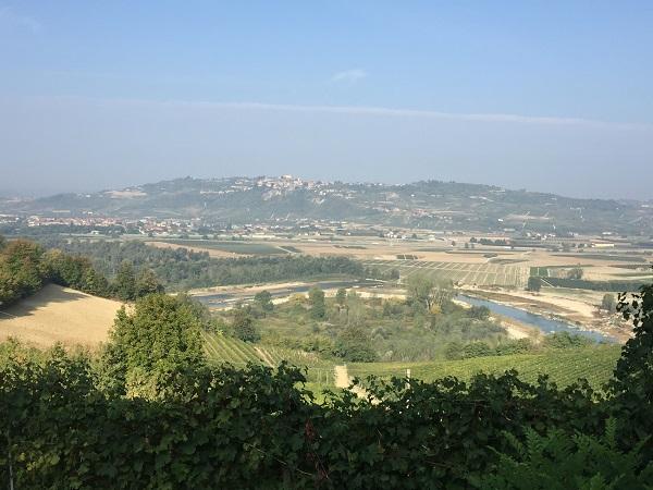 Tanaro river close to Barbaresco