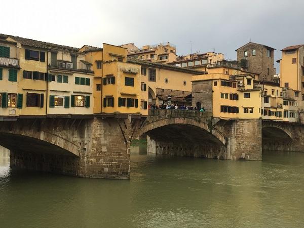 Ponte Vecchio view