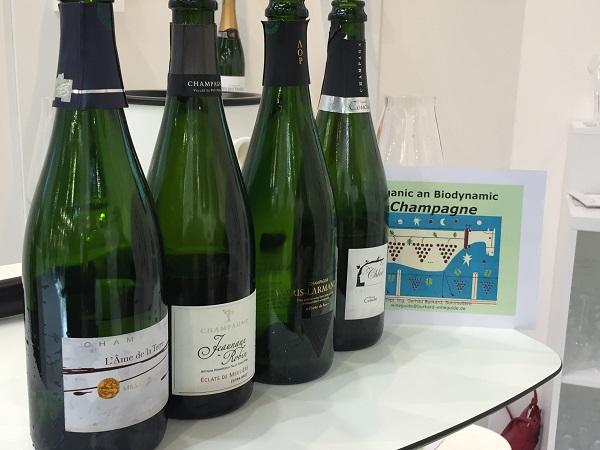 Biodynamic Champagnes
