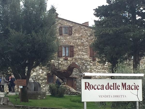 Rocca delle Macie estate