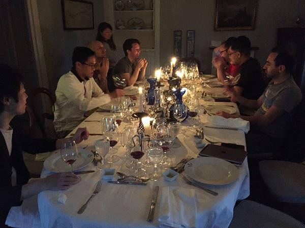 Quinta do Crasto dinner
