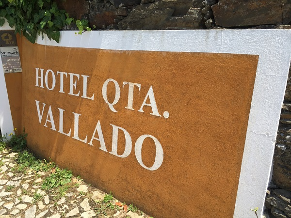 Quinta do Vallado sign