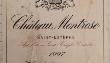 185. Château Montrose, Saint-Estèphe, 1997