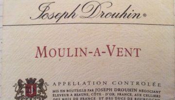 186. Joseph Drouhin, Moulin-à-Vent, Beaujolais, 2003
