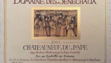 191. Domaine de Sénéchaux, Châteauneuf-du-Pape, 2001