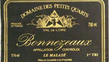 195. Domaine des Petits Quarts, Bonnezeaux Le Malabé 1er Tri, 2001