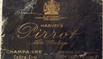 201. Harvey's, Champagne Pirrot Extra Dry, NV (c. 1965)