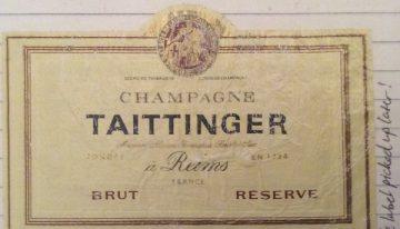 204. Champagne Taittinger, Champagne Brut Réserve NV (2005)
