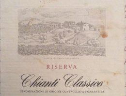 252. Melini, Chianti Classico Riserva Vigneti La Selvanella, 1999