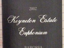 264. Henschke, Keyneton Estate Euphonium Barossa, 2002