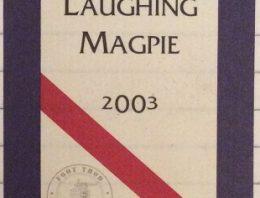268. d'Arenberg, Shiraz Viognier The Laughing Magpie McLaren Vale, 2003