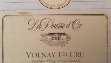 287. Domaine de la Pousse d'Or, Volnay 1er Cru, 1997