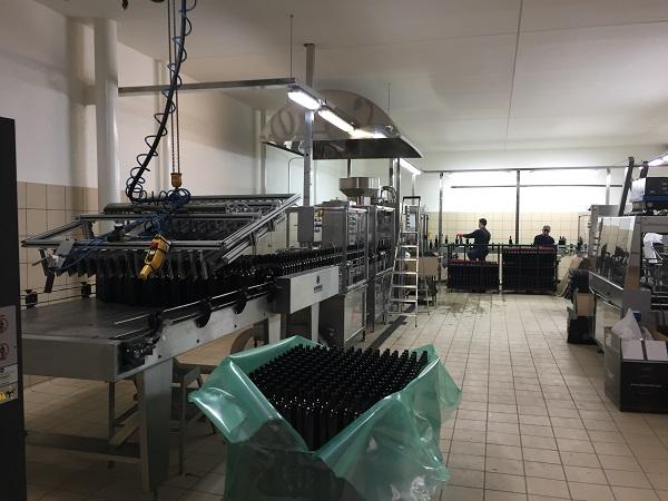 Artadi bottling line