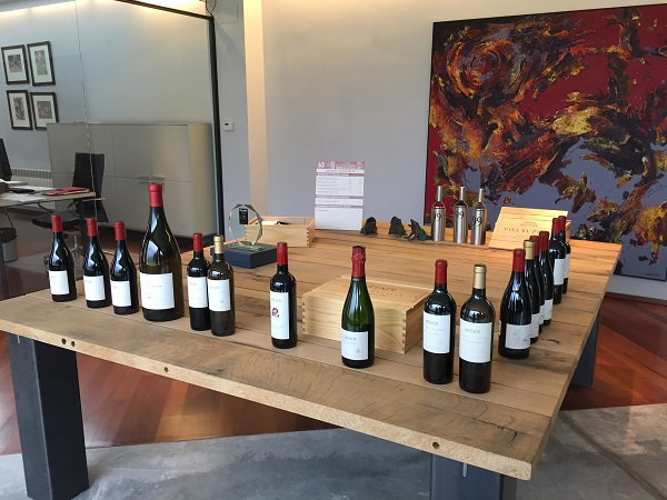 Artadi wine range