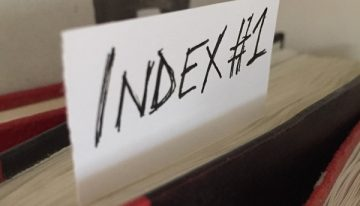 Book 1 Index