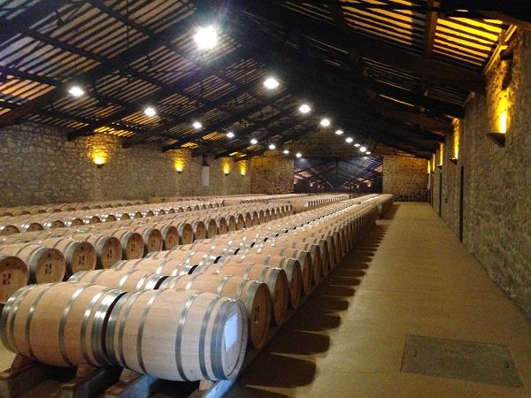 CVNE Eiffel barrel room