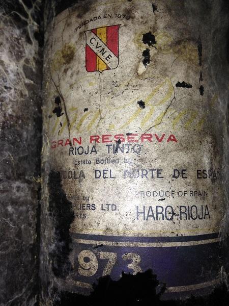 CVNE Vina Real Gran Reserva 1973