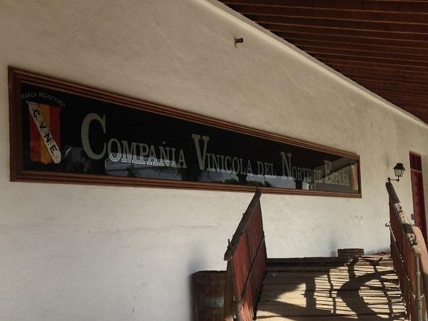 CVNE Compania Vinicola del Norte de Espana sign
