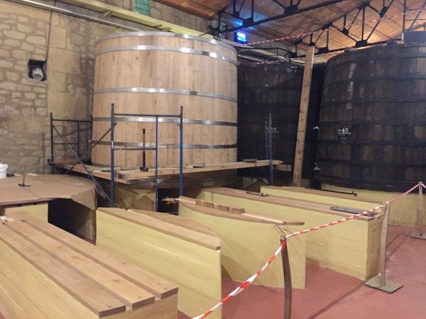 Building French oak vats