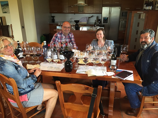 Pujanza tasting group