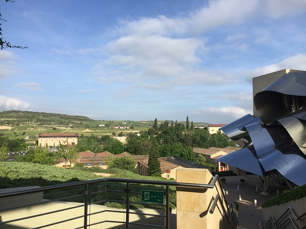 Marqués de Riscal hotel environs view