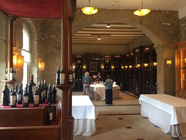 Marqués de Riscal tasting room