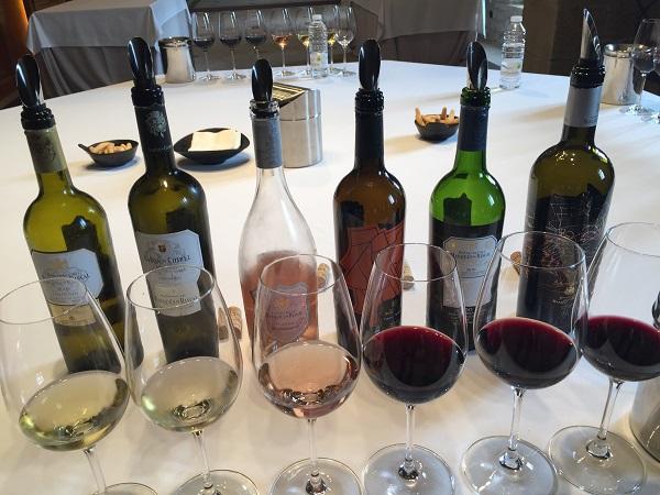 Marqués de Riscal tasting line-up