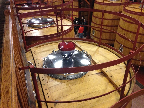 French oak fermentation vats Roda