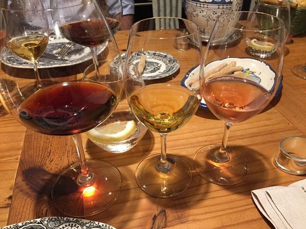 Tondonia dinner wines