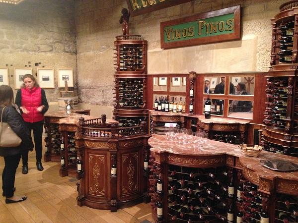 Tondonia tasting room