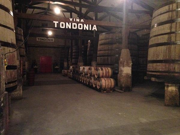 Tondonia fermentation vats