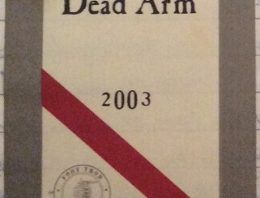 311. d'Arenberg, Shiraz The Dead Arm McLaren Vale, 2003