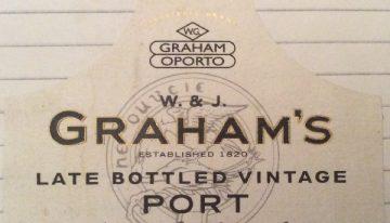 347. W. & J. Graham & Co, Late Bottled Vintage Port, 1997