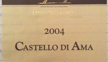 361. Castello di Ama, Chianti Classico, 2004