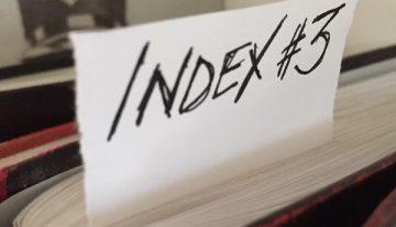 Book 3 Index