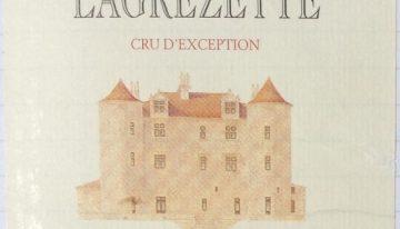 376. Domaine Lagrezette, Château Lagrezette Cru d'Exception Cahors, 2001