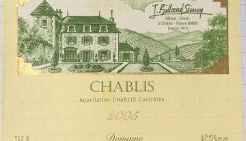 379. Domaine Billaud-Simon, Chablis, 2005