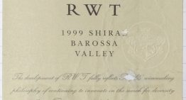 384. Penfolds, RWT Shiraz Barossa Valley, 1999