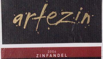 388. Artezin, Zinfandel California, 2004