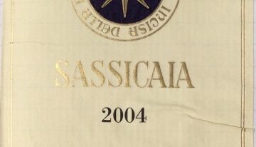 390. Tenuta San Guido, Sassicaia Bolgheri, 2004